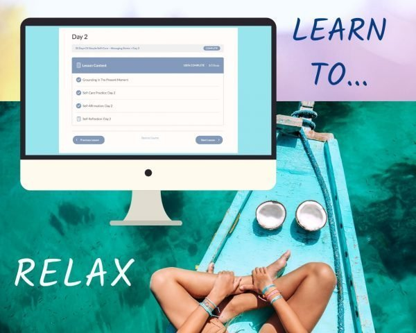 Self-Care For Stress Relief - Online Course