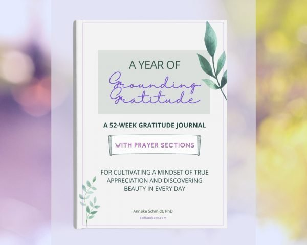 Gratitude Journal With Prayer Section