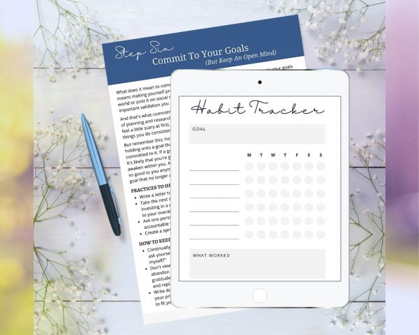 Goal-Setting Journal With Practical Tips